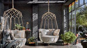 Gravity Swing Sofa von Roberti in der Wohnfabrik bei Dresden kaufen.