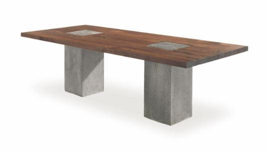Tisch Boss Executive Concrete von Riva1920.