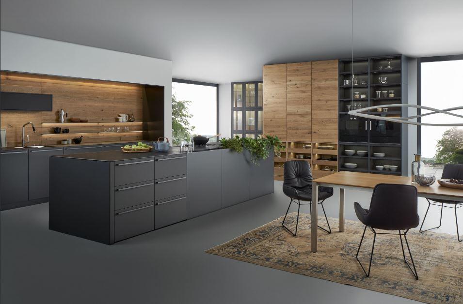 Küchen von leicht in der Wohnfabrik bei Dresden kaufen.
