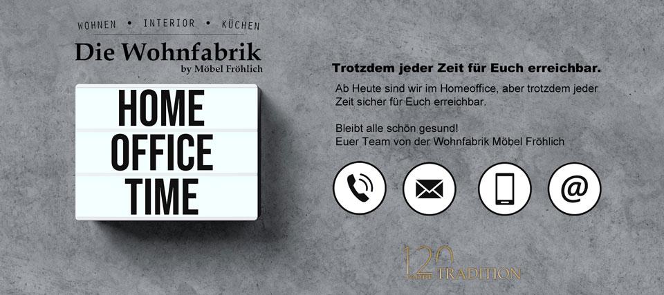 Die Wohnfabrik - Homeoffice - zu jeder Zeit erreichbar!