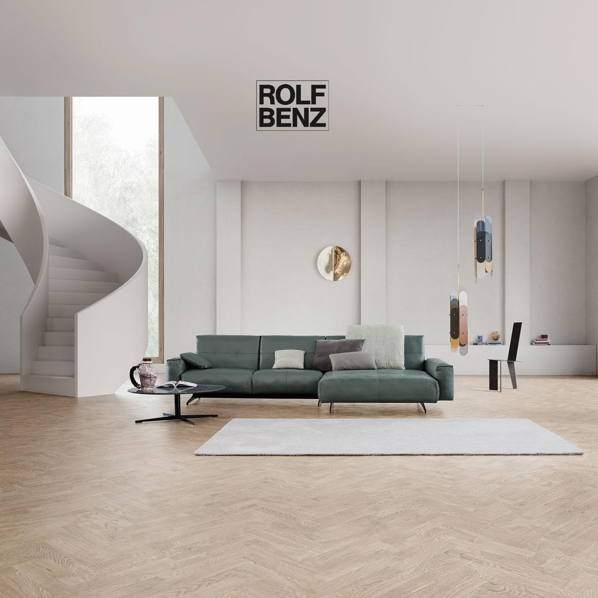 Rolf Benz 50 ist als Eck-Sofa